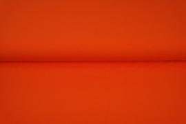 Oranje boordstof. Rondgebreid 35 cm. Per 25 cm