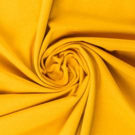 Tricot: effen lemon yellow per 25cm