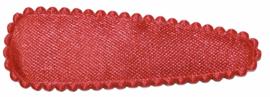kniphoesje satijn effen rood 5 cm