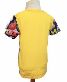 Shirt: FOOTBALL SCHOOL maat 116-146