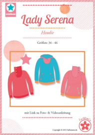 Farbenmix naaipatroon Lady Serena: voor dames 34-46
