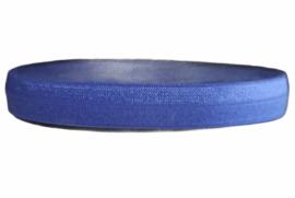 Elastisch band royal blue 16 mm per 0,5 meter