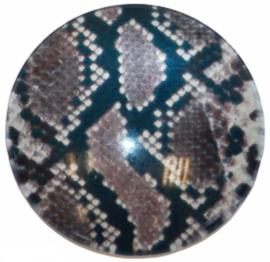 Glas cabochon 25mm: Animal print