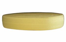 Elastisch band zonnig geel 16 mm per 0,5 meter