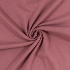 Boordstof: oudroze (Swafing kleur 436) Rondgebreid 48 cm. Per 25 cm