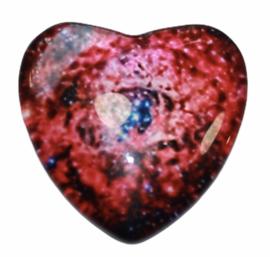 Hart glascabochon galaxy 25 mm