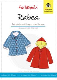 Farbenmix papier patroon Retrojas  Rabea 74/80 - 146/152