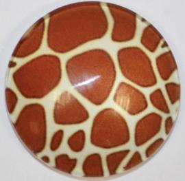 Glascabochon 20mm animal print (8)
