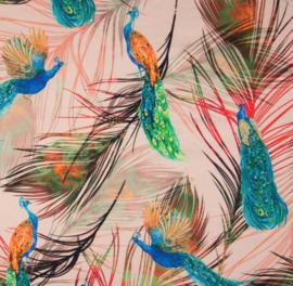 Digitale tricot: Peacock, per 25 cm