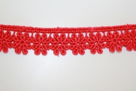Ets kant 20 mm breed rood per 0,5 meter