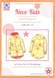 Farbenmix papier patroon herfst/winterparka  Neve kids 80 - 122