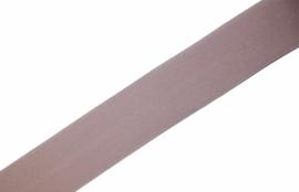 Elastisch biaisband/vouwtres MAT kleur poudre 20 mm per 0,5 meter