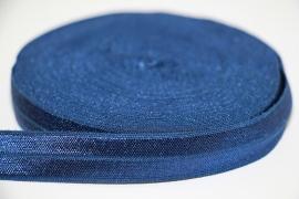 Elastisch band marineblauw 16 mm per 0,5 meter