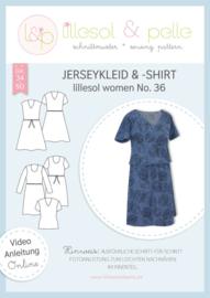 Lillesol & Pelle women tricotjurk en tricot shirt maat 34 t/m 50