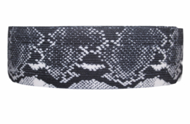 Reptielprint elastiek 40 mm per 0,5 meter