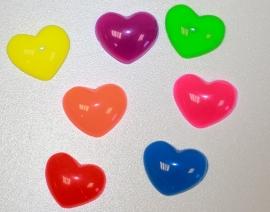 Flatback cabochon kawaii resin hart 13x11 mm