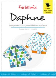 Farbenmix papier patroon Daphne, collegejack86/92 -170/176