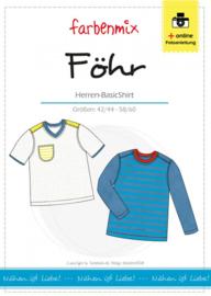 Farbenmix naaipatroon Fohr, herenshirt S-XXL