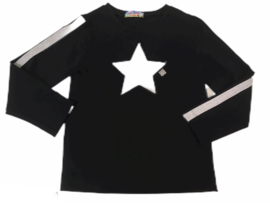 Shirt silver star 104-140