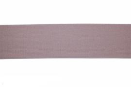 Poederroze elastiek 30 mm per 0,5 meter
