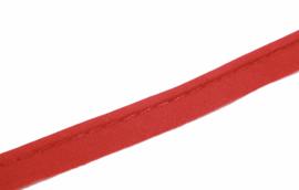 Paspelband katoen rood, per 0,5 meter