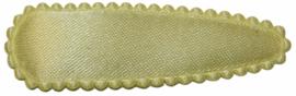 kniphoesje satijn effen zachtgeel 5 cm