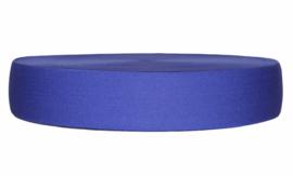 Kobaltblauw elastiek 40 mm per 0,5 meter