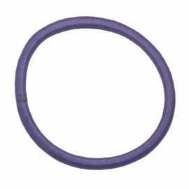 Haarelastiekje lila+/- 45 mm, dikte 4mm