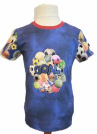Shirt: GOAL! maat 116-140