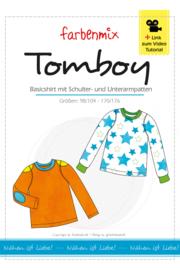 Farbenmix papier patroon Tomboy maat 98 - 176