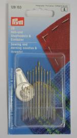 Prym naai- en stopnaalden assortiment + draaddoorsteker