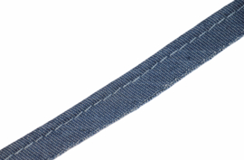 Paspelband/ pipingband jeans 10mm, per 0,5 meter