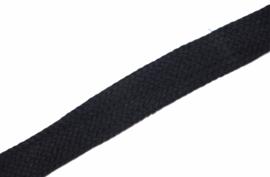 Koord plat 20mm marineblauw, per meter