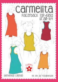 Farbenmix papier patroon Carmelita maat 80-164