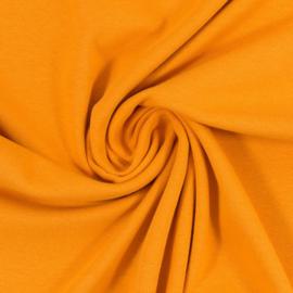 Boordstof: mosterdgeel (Swafing kleur 313) Rondgebreid 48 cm. per 25 cm