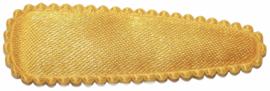 kniphoesje satijn effen warm geel 5 cm