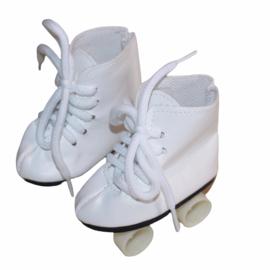 Rolschaatsjes wit voor babyborn