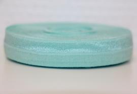 Elastisch band zachtblauw 16 mm per 0,5 meter