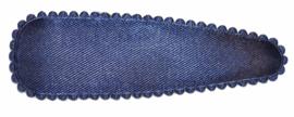 Kniphoesje satijn marine 8 cm, per stuk