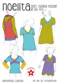 Farbenmix papier patroon Noelita maat 86-164