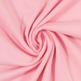 Boordstof: pastel pink (Swafing kleur 431) Rondgebreid 48cm. Per 25 cm