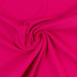 Boordstof: fuchsia (Swafing kleur 935) Rondgebreid 48 cm, totaal 96 cm. Per 25 cm