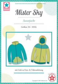 Farbenmix naaipatroon Mister Sky XS-XXXL