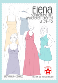 Farbenmix papieren patroon dames