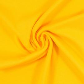 Boordstof: lemon yellow rondgebreid 50cm. Per 25 cm