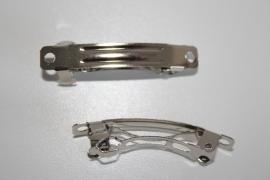 French Barrette clips 4 cm per 10 stuks