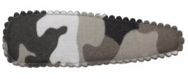 Kniphoesje camouflage 8cm, per stuk