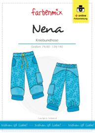 Farbenmix papier patroon broek Nena  74/80 -134/140