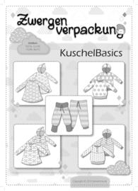 Farbenmix papier patroon  Kuschelbasics maat 50 - 92