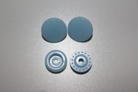 Kamsnaps T5 lichtblauw glans per 10